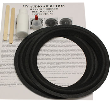 "Kit For Boston Acoustics 8"""