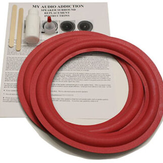 "Kit For Cerwin Vega AT 10"" Red Over Grey Foam"