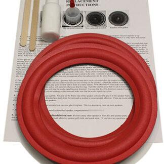 "Kit For Cerwin Vega 8"" Red Over Grey"